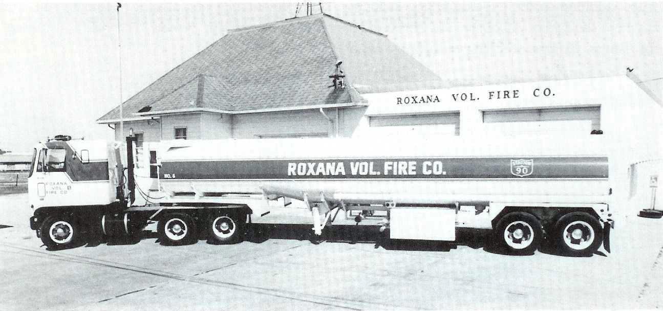 History - Roxana Fire Company